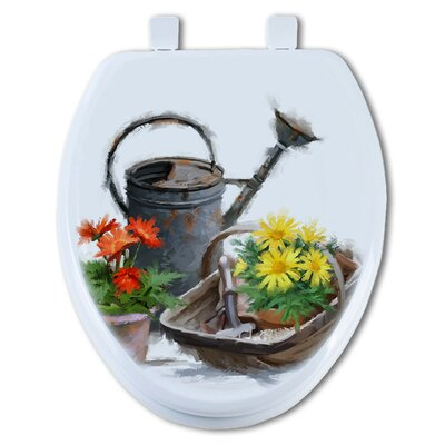 Watering Can Round Toilet Seat
