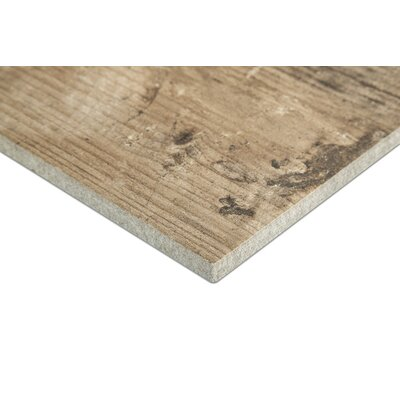 Chalet 6 x 36 Porcelain Wood Look Tile in Noce