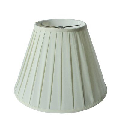 Round Box Pleat 16 Linen Bell Lamp Shade