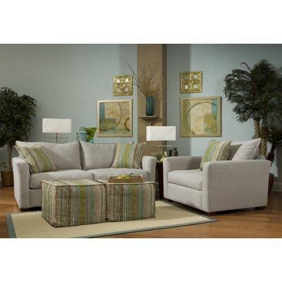 Image Addison Arm Chair and Ottoman
