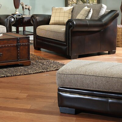 Tobby Arm Chair and Ottoman