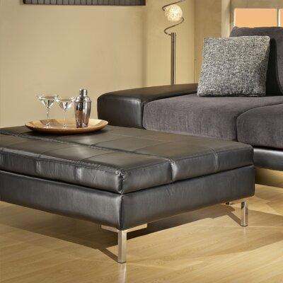 Furniture Living Room Furniture Ottoman Chrome Contemporary Ottoman