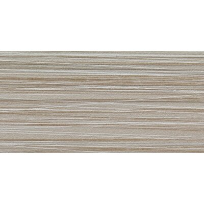 Bamboo 12 x 24 Porcelain Field Tile in Gris Linen