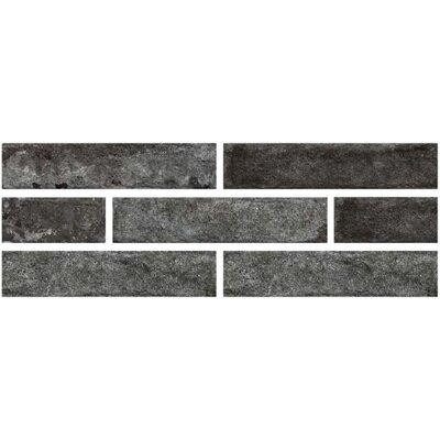 Brick One 3 x 12 Porcelain Subway Tile in Fumo Di Londra