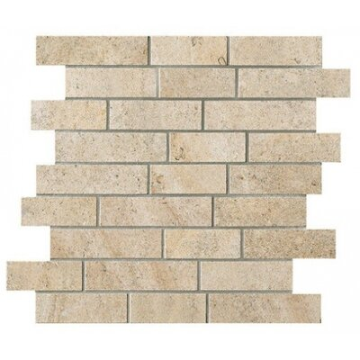 Everstone 2 x 4 Porcelain Mosaic Tile in Ever-Dore