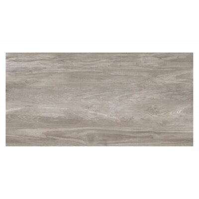 Travel 12 x 48 Porcelain Field Tile in East Gray