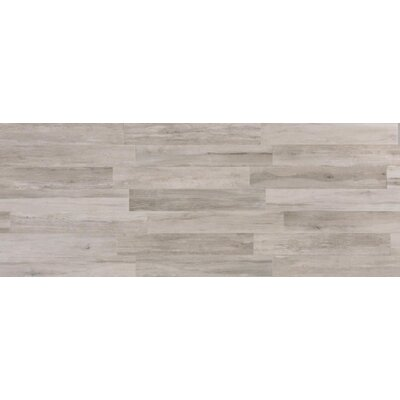 Travel 8 x 48 Porcelain Field Tile in East Gray