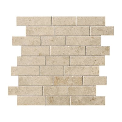 Everstone 12 x 24 Porcelain Mosaic Tile in Ever-Beige