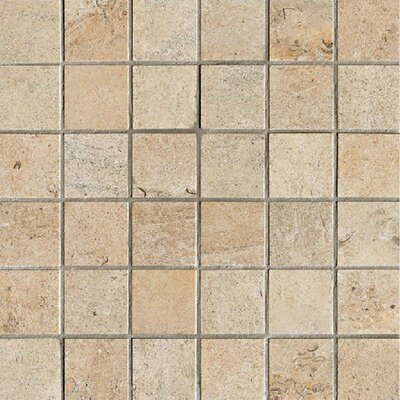 Everstone 2 x 2 Porcelain Mosaic Tile in Dore
