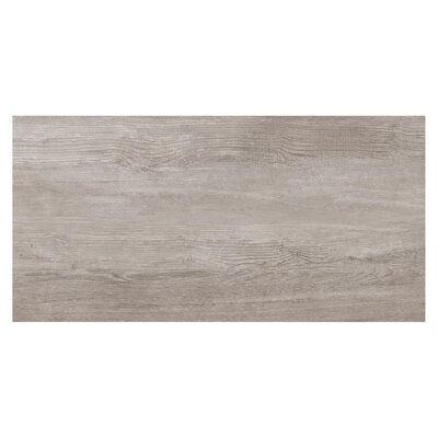 Travel 6 x 48 Porcelain Field Tile in East Gray