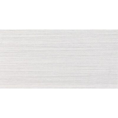 Bamboo 12 x 24 Porcelain Field Tile in Blanc Linen
