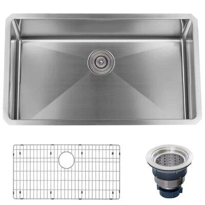 Stainless Steel 30 x 18 Undermount Kitchen Sink
