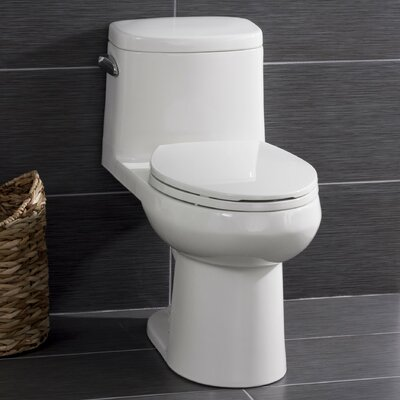 High Efficiency ADA Height 1.28 GPF Elongated One-Piece Toilet