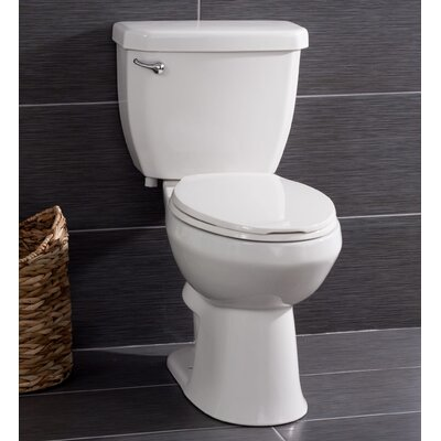High Efficiency 1.28 GPF Elongated Two-Piece Toilet