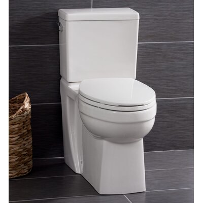High Efficiency ADA Height 1.28 GPF Elongated Two-Piece Toilet