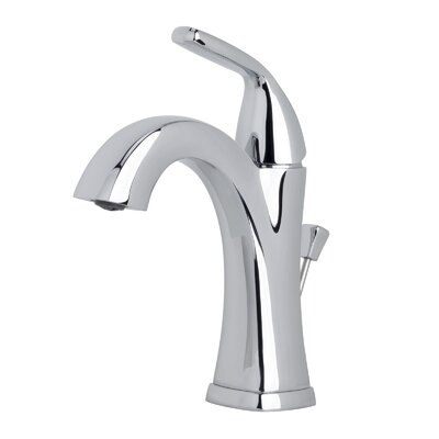Elysa Single Handle Bathroom Faucet with Drain Assembly Finish: Polished Chrome