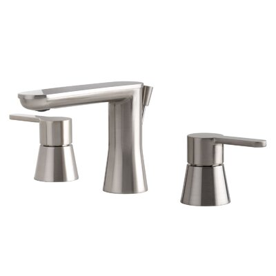 Bella Double Handle Bathroom Faucet with Drain Assembly Finish: Brushed Nickel