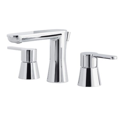 Bella Double Handle Bathroom Faucet with Drain Assembly Finish: Polished Chrome