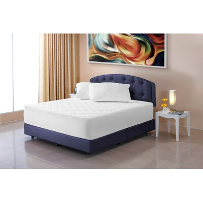 Cotton Mattress Pad Bed Size: Twin-Xl