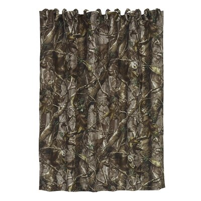 Cerritos Oak Timber Shower Curtain