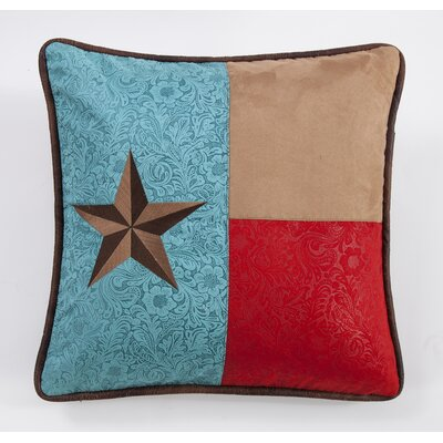 Marcella Embroidered Star Throw Pillow