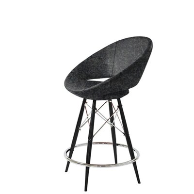 Redington 29 Bar Stool Leg Color: Black