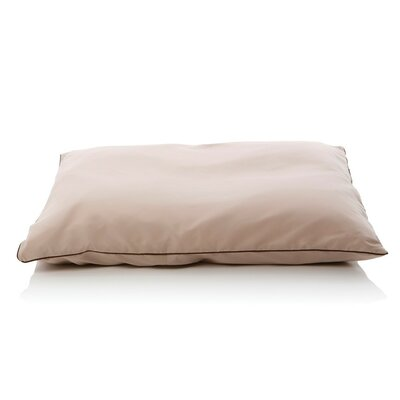 5 Star Dog Pillow Size: Small (28 L x 26 W), Color: Sandstone