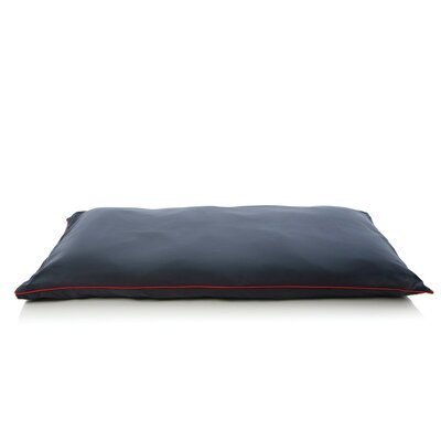 5 Star Dog Pillow Size: Medium (43 L x 27 W), Color: Navy Blue