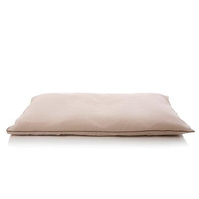 5 Star Dog Pillow Size: Medium (43 L x 27 W), Color: Sandstone