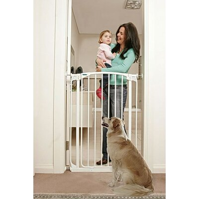 Extra Tall Swing Closed Pet Gate Finish: White