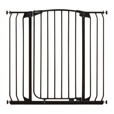 Extra Tall Hallway Pet Gate Color: Black
