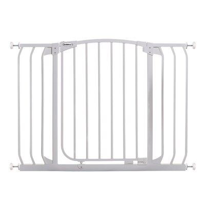 Hallway Pet Gate Color: White