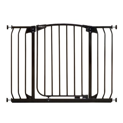 Hallway Pet Gate Color: Black