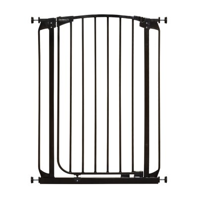 Extra Tall Swing Closed Pet Gate Finish: Black