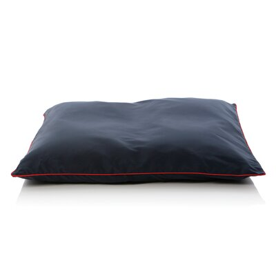 5 Star Dog Pillow Size: Small (28 L x 26 W), Color: Navy Blue