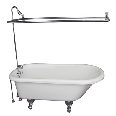 29.5 x 67 Soaking Bathtub Kit