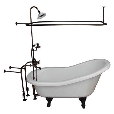 67 x 29.5 Soaking Bathtub Kit Finish: Oil Rubbed Bronze