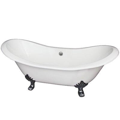 Marshall 71 x 30 Soaking Bathtub Finish: Polished Chrome