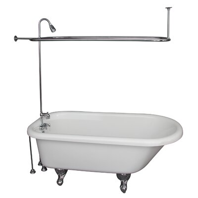 60 x 29.5 Soaking Bathtub Kit