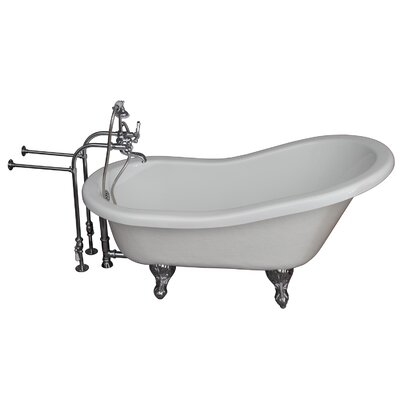 Tub Kit 24.5 x 60 Bathtub Finish: Chrome