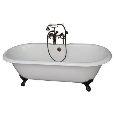 67 x 23.25 Soaking Bathtub Kit Finish: Oil Rubbed Bronze