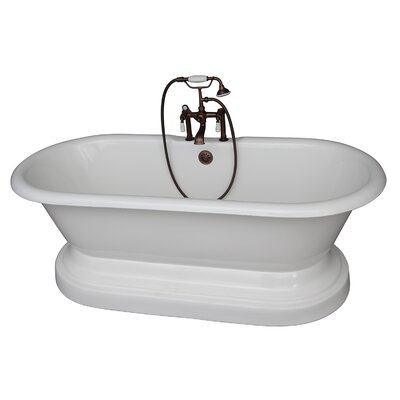 67 x 31 Soaking Bathtub Kit Finish: Oil Rubbed Bronze