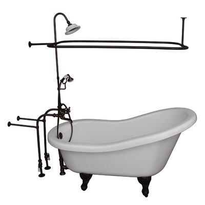 60 x 29.5 Soaking Bathtub Kit Finish: Oil Rubbed Bronze