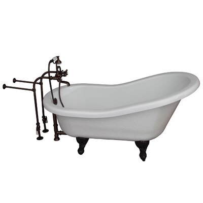 Tub Kit 24.5 x 60 Bathtub Finish: Oil Rubbed Bronze