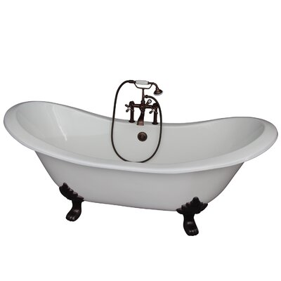 71 x 30.5 Soaking Bathtub Kit Finish: Oil Rubbed Bronze