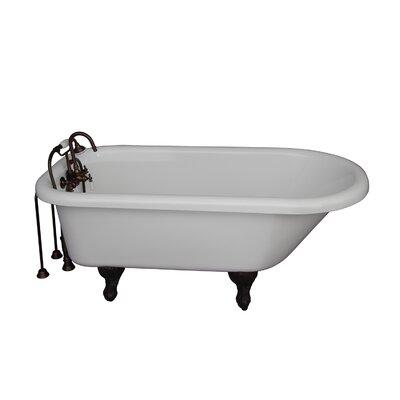 67 x 29.5 Soaking Bathtub Kit