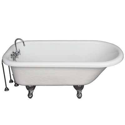 60 x 24.5 Soaking Bathtub Kit