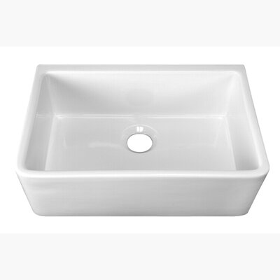 Delia 30 x 18 Farmer Kitchen Sink