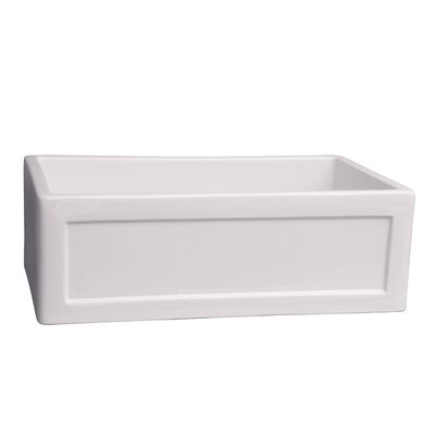 Ellyce Framed 30 x 18 Farmer Kitchen Sink