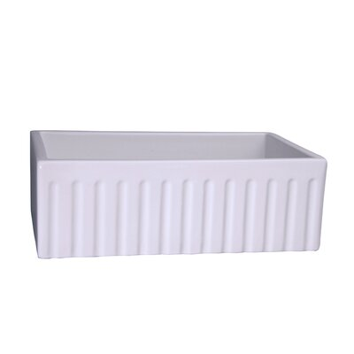 Felicity Fluted 30 x 18 Farmer Kitchen Sink